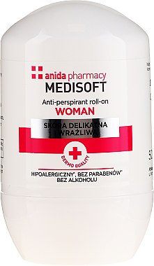 Anti-transpirant roll-on - Anida Pharmacy Medisoft Woman Deo Roll-On