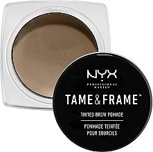 Parfums et Produits cosmétiques Pommade à sourcils - NYX Professional Makeup Tame & Frame Brow Pomade