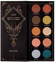 Parfums et Produits cosmétiques Palette d'ombres à paupières - Zoeva Aristo Eyeshadow Palette
