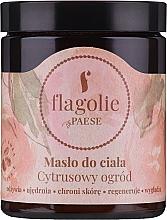 Parfums et Produits cosmétiques Beurre pour corps, Jardin d'argrumes - Flagolie by Paese Citrus Garden