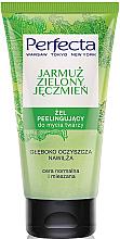 Parfums et Produits cosmétiques Gel commage pour peaux normales et mixtes Chou vert et orge - Perfecta
