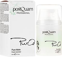 Parfums et Produits cosmétiques Fluide réparateur matifiant pour le visage - PostQuam Pure 02 Matte Repair Fluid
