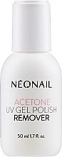 Parfums et Produits cosmétiques Dissolvant pour vernis semi-permanent - NeoNail Professional Acetone UV Gel Polish Remover