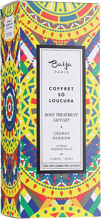Coffret cadeau - Baija So Loucura (sh/gel/100ml + b/cr/75ml + b/scr/82g) — Photo N1