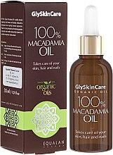 Parfums et Produits cosmétiques Huile de macadamia 100 % - GlySkinCare Macadamia Oil 100%