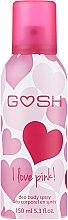 Parfums et Produits cosmétiques Déodorant spray pour corps - Gosh I Love Pink Deo Body Spray