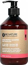 Parfums et Produits cosmétiques Shampooing aux huiles de macadamia et raisin - Beetre Be Nature Color Protect Shampoo