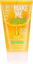 Gel nettoyant à l'huile de moringa pour visage - Lirene Make Me Clean! Fresh Vegetable Gel — Photo N1