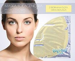 Parfums et Produits cosmétiques Masque hydrogel à base de collagène avec particules d'or pour visage - Beauty Face Collagen Hydrogel Mask