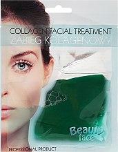 Parfums et Produits cosmétiques Masque nourrissant et éclaircissant au collagène à l'extrait de concombre, visage - Beauty Face Cucumber Extract Collagen Mask