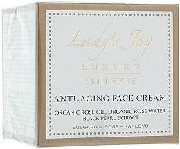 Parfums et Produits cosmétiques Crème à l'huile de rose bulgare bio pour visage - Bulgarian Rose Lady's Joy Luxury Anti-Aging Face Cream