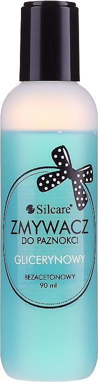 Dissolvant à la glycérine pour les ongles, sans acétone - Silcare