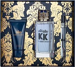 Parfums et Produits cosmétiques Dolce&Gabbana K by Dolce&Gabbana - Coffret (eau de toilette/100ml + gel douche/50ml + eau de toilette mini/10ml)