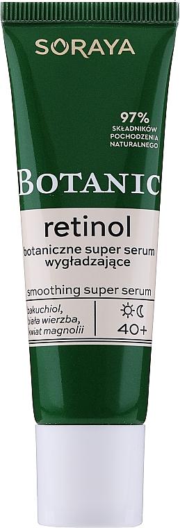 Sérum à l'extrait de magnolia pour visage - Soraya Botanic Retinol Smoothing Super Serum