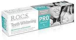 Parfums et Produits cosmétiques Dentifrice blanchissant - R.O.C.S. PRO Sweet Mint