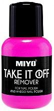 Parfums et Produits cosmétiques Dissolvant pour vernis classique et semi-permanent - Miyo Take It Off Remover