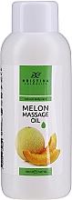 Parfums et Produits cosmétiques Huile de massage nourrissante à l'extrait de melon pour corps - Hristina Cosmetics Melon Massage Oil