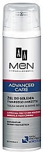 Parfums et Produits cosmétiques Gel de rasage à la vitamine E - AA Men Advanced Care Tough Beard Shaving Gel
