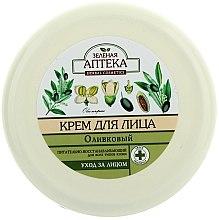 Parfums et Produits cosmétiques Crème à l'huile d'olive pour visage - Green Pharmacy