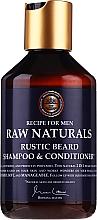 Parfums et Produits cosmétiques Shampooing et après-shampooing à l'extrait de houblon pour barbe - Recipe For Men RAW Naturals Rustic Beard Shampoo & Conditioner