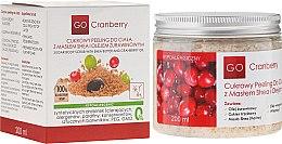 Parfums et Produits cosmétiques Gommage corporel au sucre au beurre de karité et huile de canneberge - GoCranberry