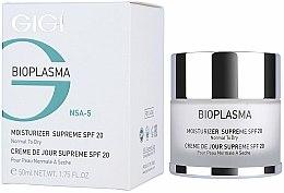 Parfums et Produits cosmétiques Crème à l'extrait d'algues rouges pour visage - Gigi Bioplasma Moist Dry SPF-20