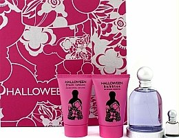 Parfums et Produits cosmétiques Jesus Del Pozo Halloween - Coffret (edt/100ml + b/l/50ml + sh/g/50ml + mini/4.5ml)