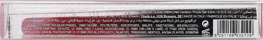 Rouge à lèvres liquide semi-mat - Huda Beauty Demi Matte Cream Lipstick — Photo N3