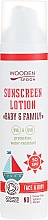 Parfums et Produits cosmétiques Crème solaire bio pour bébé et famille SPF 50 - Wooden Spoon Organic Sunscreen Lotion Baby & Family SPF 50