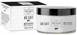 Parfums et Produits cosmétiques Beurre au lait pour le corps - Scottish Fine Soaps Au Lait Body Butter