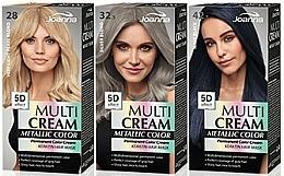 Parfums et Produits cosmétiques Coloration cheveux - Joanna Multi Cream Color Metallic