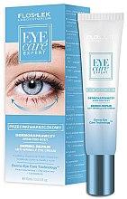 Parfums et Produits cosmétiques Crème à l'acide hyaluronique et huile d'argan pour contour des yeux - Floslek Eye Care Expert Dermo-Repair Anti-Wrinkle Eye Cream