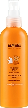 Parfums et Produits cosmétiques Spray solaire à la vitamine E - Babe Laboratorios Sunscreen Spray SPF 50+