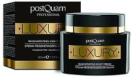 Parfums et Produits cosmétiques Crème de nuit à l'Or colloïdal - Postquam Luxury Gold Regenerating Night Cream