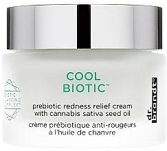 Parfums et Produits cosmétiques Crème prébiotique anti-rougeurs à l'huile de chanvre pour visage - Dr. Brandt Cool Biotic Prebiotic Redness Relief Cream