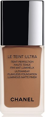 Fond de teint haute tenue fini mat lumineux - Chanel Le Teint Ultra Foundation SPF 15