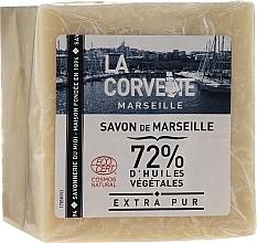 Parfums et Produits cosmétiques Savon de Marseille à 72% d'huile d'olive - La Corvette Savon de Marseille Extra Pur