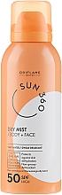 Parfums et Produits cosmétiques Spray solaire pour visage et corps - Oriflame Sun 360 Dry Mist SPF 50