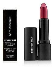 Parfums et Produits cosmétiques Rouge à lèvres brillant, longue tenue - Bare Escentuals Bare Minerals Statement Luxe Shine Lipstick