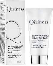 Parfums et Produits cosmétiques Masque de nuit à l'huile de sésame pour visage - Qiriness Brightening Detox Sleeping Pack