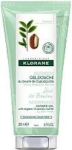 Parfums et Produits cosmétiques Gel douche au beurre de cupuaçu bio Bambou - Klorane Cupuacu Bamboo Sap Nourishing Shower Gel