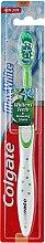 Parfums et Produits cosmétiques Brosse à dents, souple, blanc-vert - Colgate Max White Soft With Polishing Star
