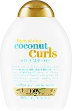 Parfums et Produits cosmétiques Shampooing pour cheveux bouclés à l'huile de coco et miel - OGX Coconut Curls Shampoo