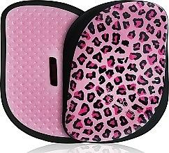 Parfums et Produits cosmétiques Brosse à cheveux compacte - Tangle Teezer Compact Styler Pink Kitty Mobile Brush