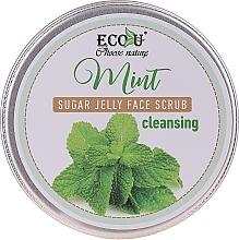 Parfums et Produits cosmétiques Gommage à l'extrait de menthe pour visage - Eco U Cleansing Mint Sugar Jelly Face Scrub
