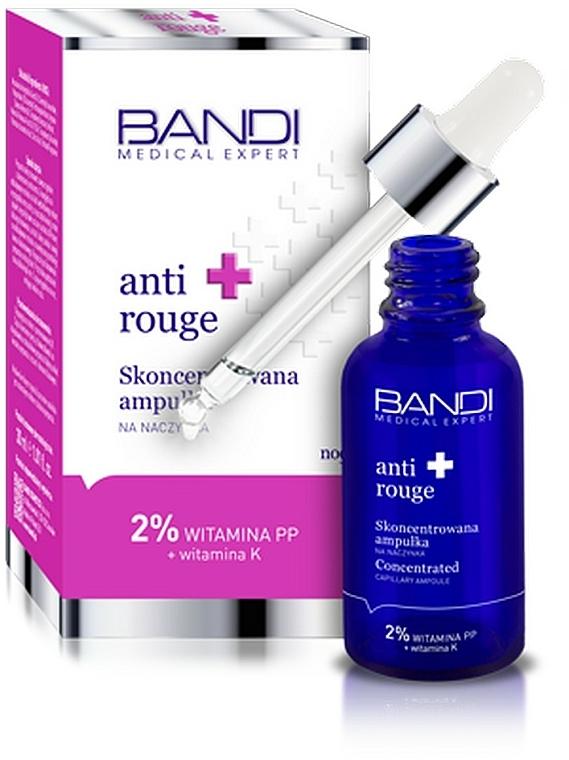 Concentré de nuit en ampoule à l'extrait de racine de Kudzu pour visage - Bandi Medical Expert Anti Rouge Concentrated Ampoule — Photo N1
