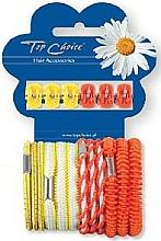 Parfums et Produits cosmétiques Set pinces et élastiques à cheveux, 28106, 6+12pcs - Top Choice