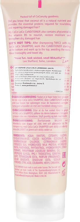 Après-shampooing à l'huile de noix de coco - Lee Stafford Coco Loco Conditioner — Photo N2