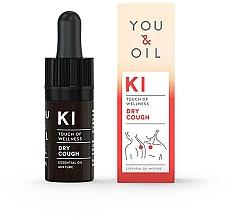 Parfums et Produits cosmétiques Mélange d'huiles essentielles - You & Oil KI-Dry Cough Touch Of Welness Essential Oil