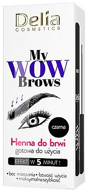 Henné sourcils - Delia My Wow Brows
